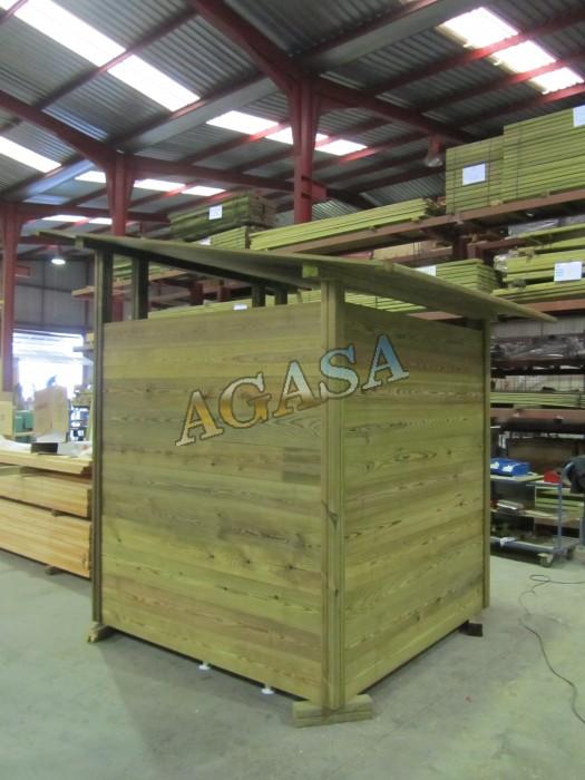 Art culos tratamientos maderas puentes o pasarelas - Mobiliario rustico ...