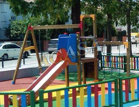 Art culos parques y juegos infantiles y para guarderias - Ikea coste montaje ...