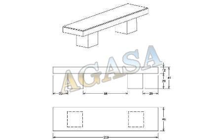 Art culos mobiliario urbano bancos o asiento bancos for Dimensiones de mobiliario