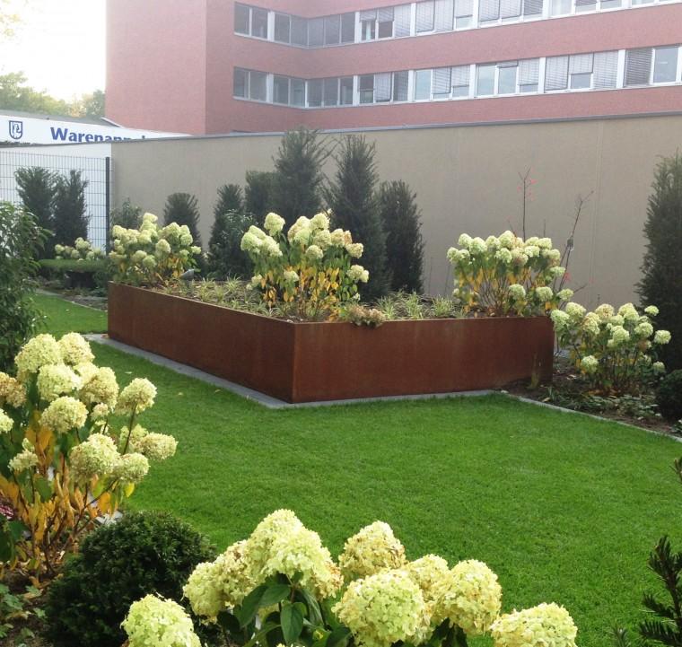 Art culos mobiliario urbano jardineras jardineras de - Jardineras rusticas exteriores ...